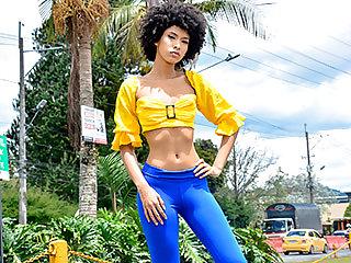 Exquisite Ebony Latina Loving